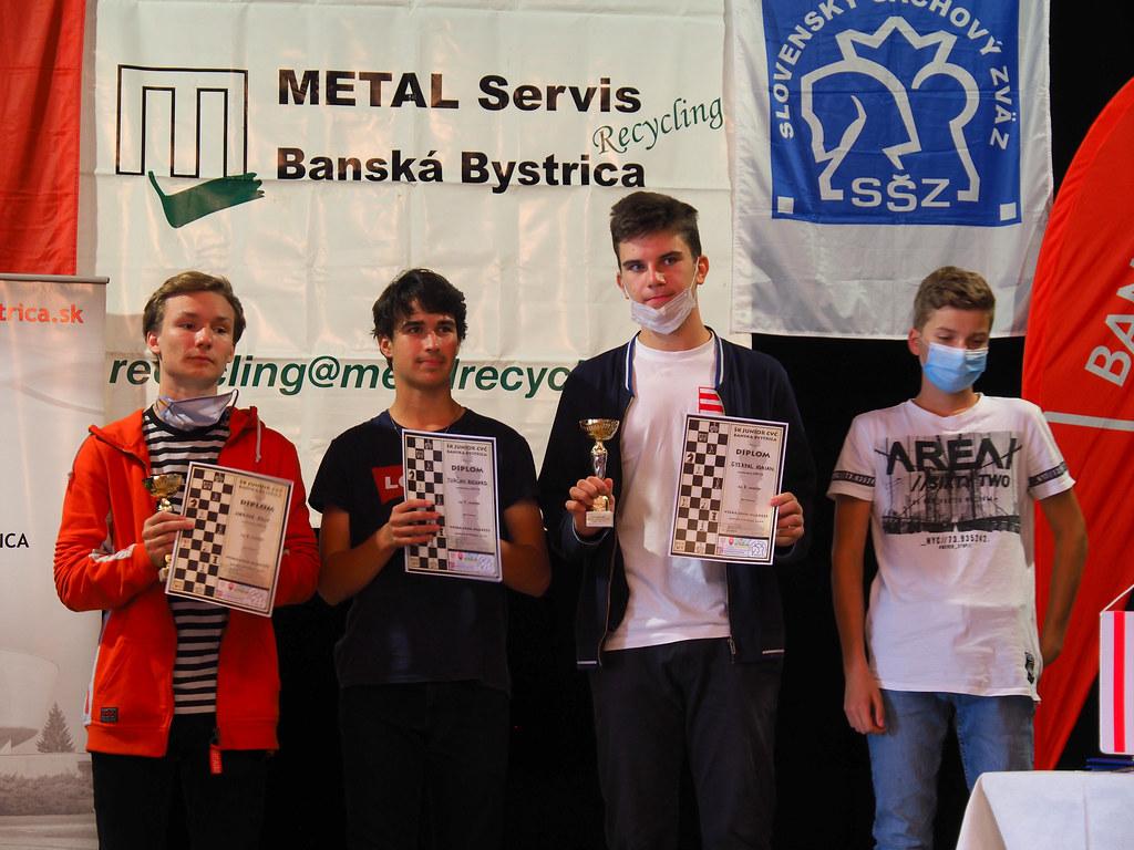 Šachové úspechy študentov GJGT