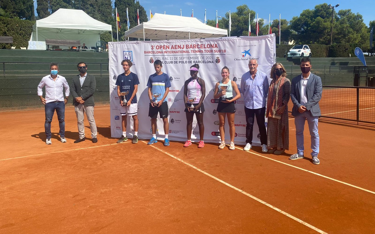 Irina Balus -  víťazka tenisového turnaja v Barcelone