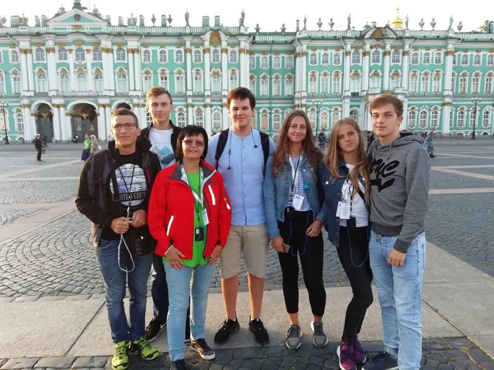 Exkurzia do Petrohradu.