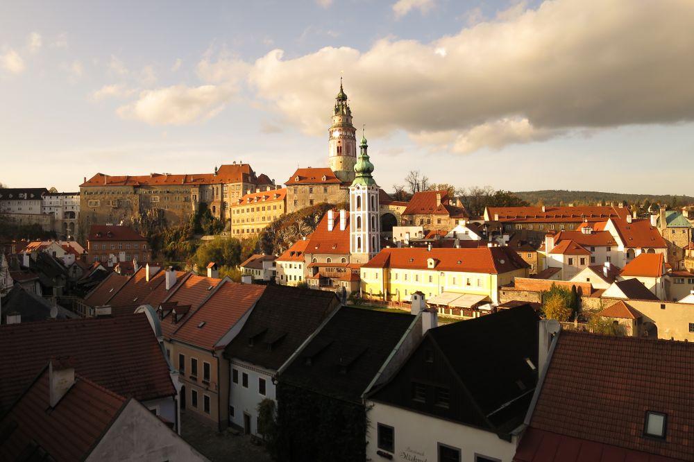 Októbrová  pohoda v južných Čechách