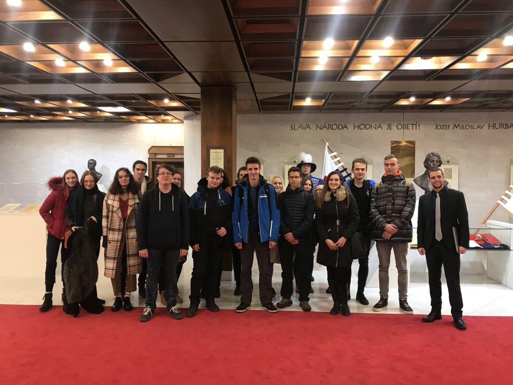 Návšteva Národnej rady Slovenskej republiky